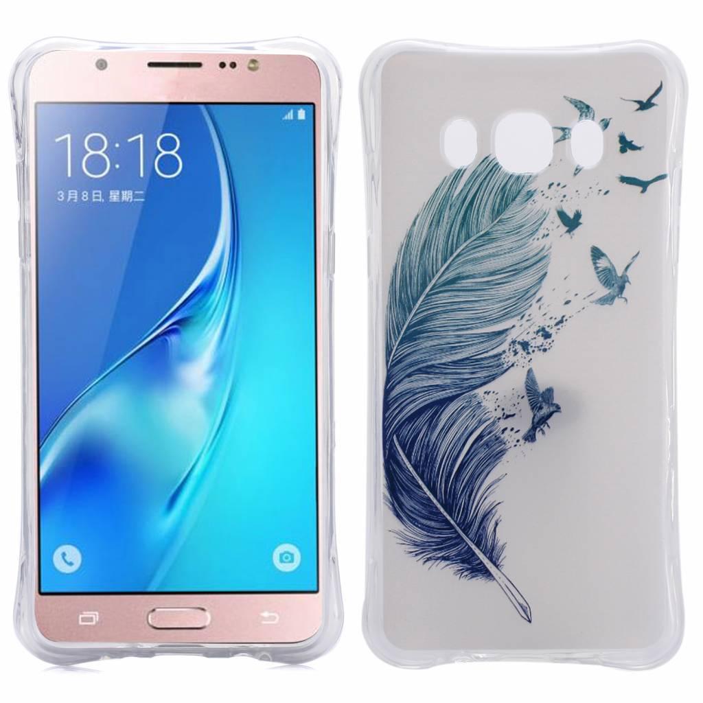 Veer en Vogels TPU Hoesje Samsung Galaxy J5 2016