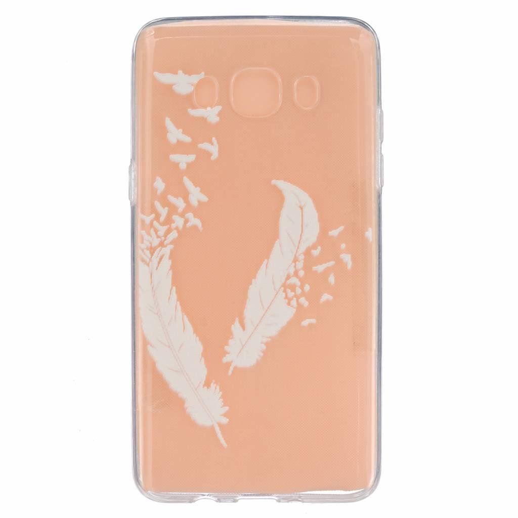 Feathers & Birds TPU Hoesje Samsung Galaxy J5 2016