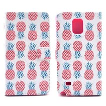 Ananas Bookcase hoes Samsung Galaxy Note 4