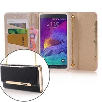Luxe design portemonnee hoes Samsung Galaxy Note 4