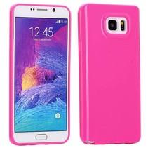 Roze TPU hoesje Samsung Galaxy Note 5