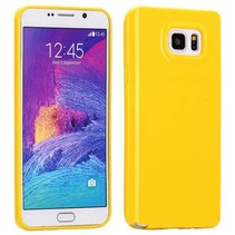 Geel TPU hoesje Samsung Galaxy Note 5