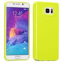 Limegroen TPU hoesje Samsung Galaxy Note 5
