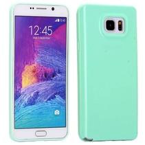 Mintgroen TPU hoesje Samsung Galaxy Note 5
