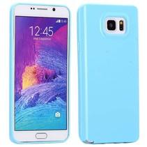 Blauw TPU hoesje Samsung Galaxy Note 5