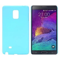 Lichtblauw hardcase hoesje Samsung Galaxy Note Edge