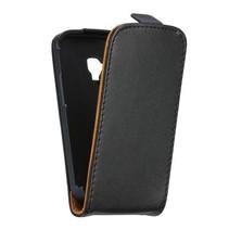 Flipcase zwart hoesje Samsung Galaxy S Duos