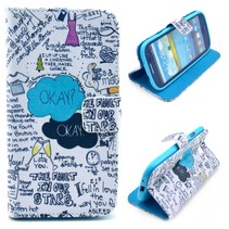 Quotes Bookcase hoesje Samsung Galaxy S3 (Neo)