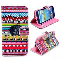 Kleurrijke Hakuna Matata hoes Samsung Galaxy S3 (Neo)