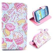 Snoepgoed en ijsjes Bookcase Samsung Galaxy S3 (Neo)