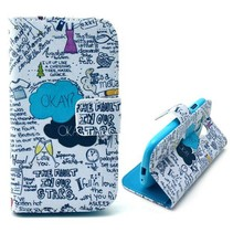 Quotes Booktype  hoesje Samsung Galaxy S3 Mini