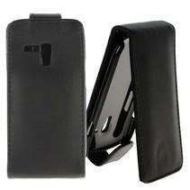 Flipcase hoesje zwart Samsung Galaxy S3 Mini