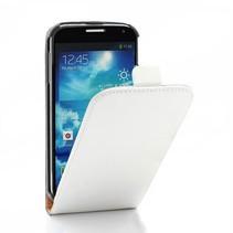 Wit Flip Case hoesje Samsung Galaxy S4