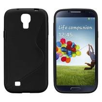 Zwart TPU S-design hoesje Samsung Galaxy S4