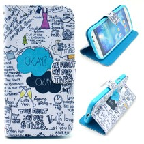 Design quotes Booktype  hoesje Samsung Galaxy S4