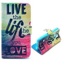 Live the Life You Love Booktype  Samsung Galaxy S5 Mini