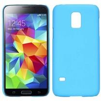 Lichtblauw hardcase hoesje Samsung Galaxy S5 Mini