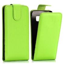 Groen Flip Case hoesje Samsung Galaxy S6 Edge