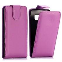 Paars Flip Case hoesje Samsung Galaxy S6 Edge