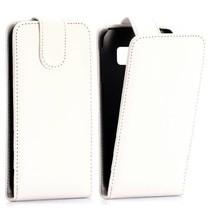 Wit Flip Case hoesje Samsung Galaxy S6 Edge