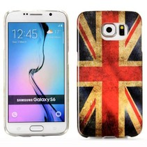 Britse vlag TPU hoesje Samsung Galaxy S6 Edge
