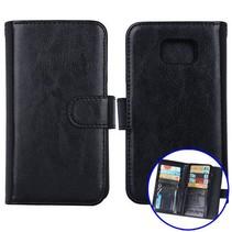 Zwart 2-in-1 detachable luxe Bookcase hoesje Samsung Galaxy S6