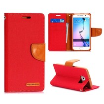 Canvas book type rood Samsung Galaxy S6