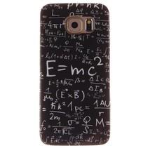 Schoolbord formules TPU hoesje Samsung Galaxy S6