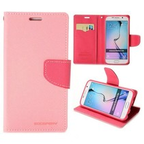 Fancy diary Bookcase hoes roze Samsung Galaxy S6