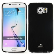 Pearl zwart TPU hoesje Samsung Galaxy S6