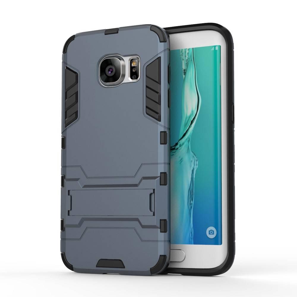 Blauw Hybrid Hoesje Samsung Galaxy S7 Edge