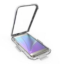 Wit Waterdicht Hoesje Samsung Galaxy S7 Edge