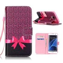 Strikje Bookcase Hoesje Samsung Galaxy S7 Edge