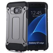 Grijs Hybrid Hoesje Samsung Galaxy S7 Edge