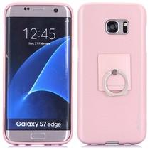 Roze TPU Hoesje Samsung Galaxy S7 Edge