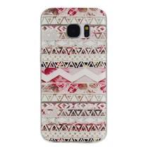 Azteken Design TPU Hoesje Samsung Galaxy S7 Edge