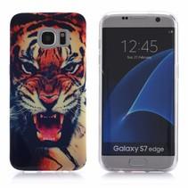 Tijger TPU Hoesje Samsung Galaxy S7 Edge