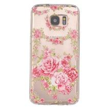 Rozen TPU Hoesje Samsung Galaxy S7 Edge