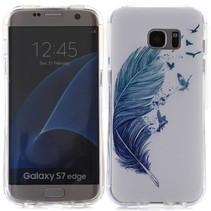 Veer en Vogels TPU Hoesje Samsung Galaxy S7 Edge
