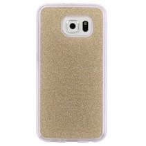 Goud Glitters TPU Hoesje Samsung Galaxy S7 Edge