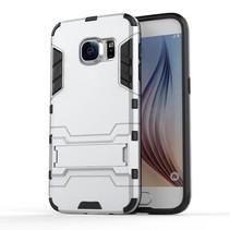 Zilver Hybrid Hoesje Samsung Galaxy S7