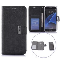 Zwart 2-in-1 Bookcase Hoesje Samsung Galaxy S7
