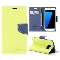 Diary Limegroen Bookcase Hoesje Samsung Galaxy S7