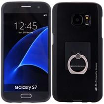 Goospery Zwart TPU Hoesje Samsung Galaxy S7