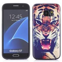Tijger TPU Hoesje Samsung Galaxy S7