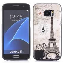 Eiffeltoren TPU Hoesje Samsung Galaxy S7