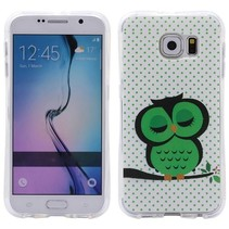 Slapende Uil TPU Hoesje Samsung Galaxy S7