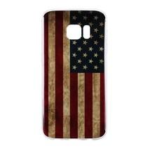 Amerikaanse Vlag TPU Hoesje Samsung Galaxy S7