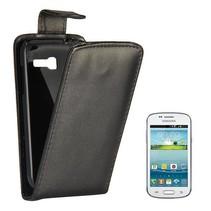 Zwart Flip Case hoesje Samsung Galaxy Star Pro