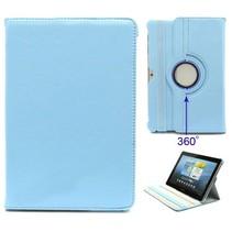 Blauwe 360 graden hoes Samsung Galaxy Tab 2 10.1